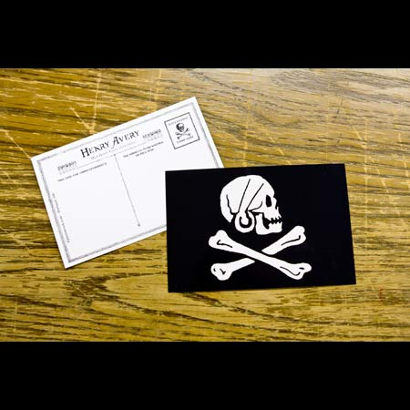 Pirate Postcard - 25 x Henry Avery