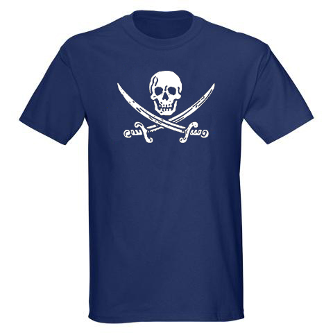 Jack Rackham Men's T-shirt - Navy Blue