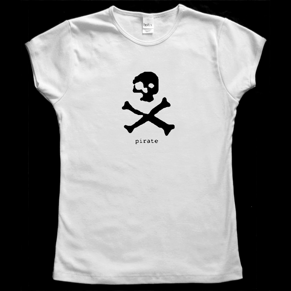 Pirate Baby Doll T-Shirt