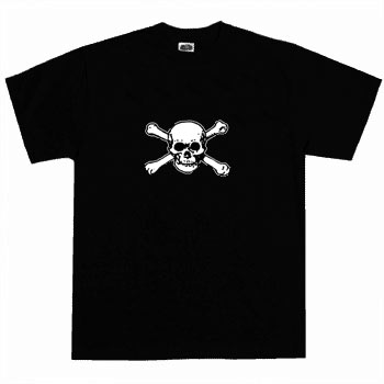 Kids Pirate Shirt - Skull & Bones 2