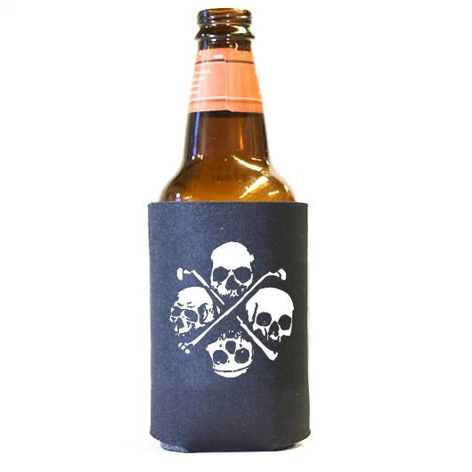 (Koozie) Four Skulls - 6 Pack