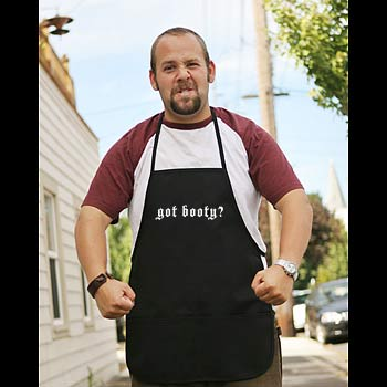 Pirate Apron - Black - Got Booty?