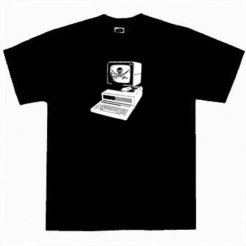 Kids Pirate Shirt - Computer Pirate