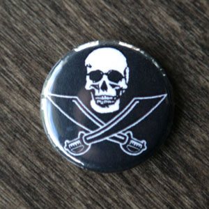 Pirate Button - Buccaneer