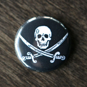 Pirate Button - Jack Rackham
