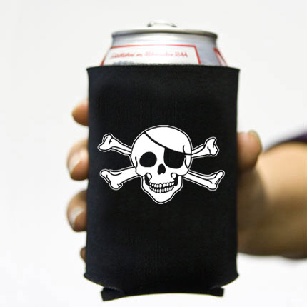 (Koozie) - Jolly Roger 3 - 6 Pack