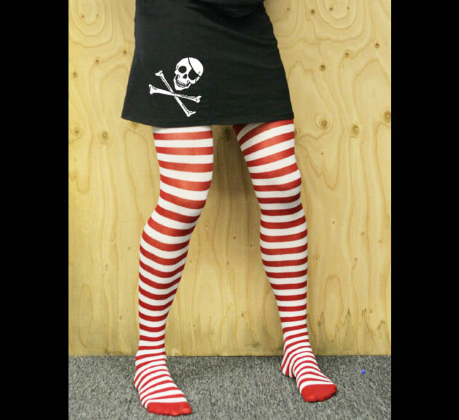 Womens Jolly Roger Skirt