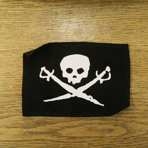 Canvas Pirate Patch - 4x6