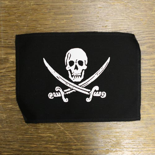Canvas Pirate Patch - 6x8