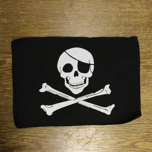 Canvas Back Patch - 8x12