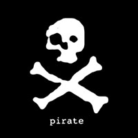 Pirate Sticker - pirate.