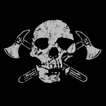 Skull Axe - Ladies Pirate Shirt