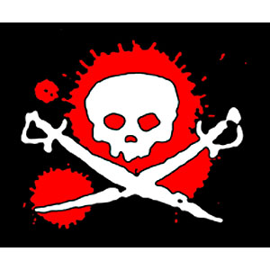 Pirate Sticker - Splat!
