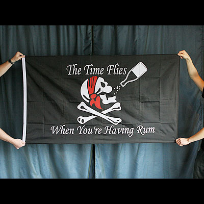 Pirate Flag - Time Flies