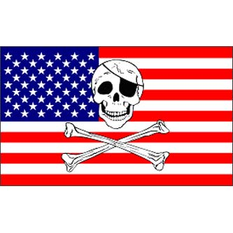 Pirate Flag - USA Jolly Roger