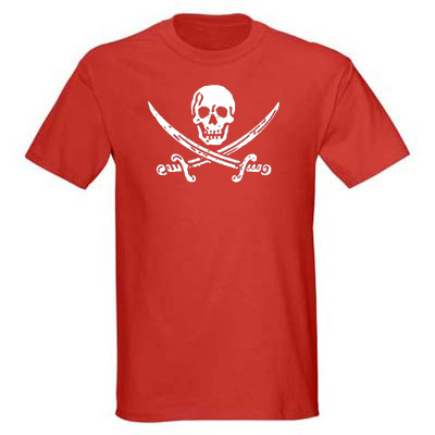 Jack Rackham Men's T-shirt - Red