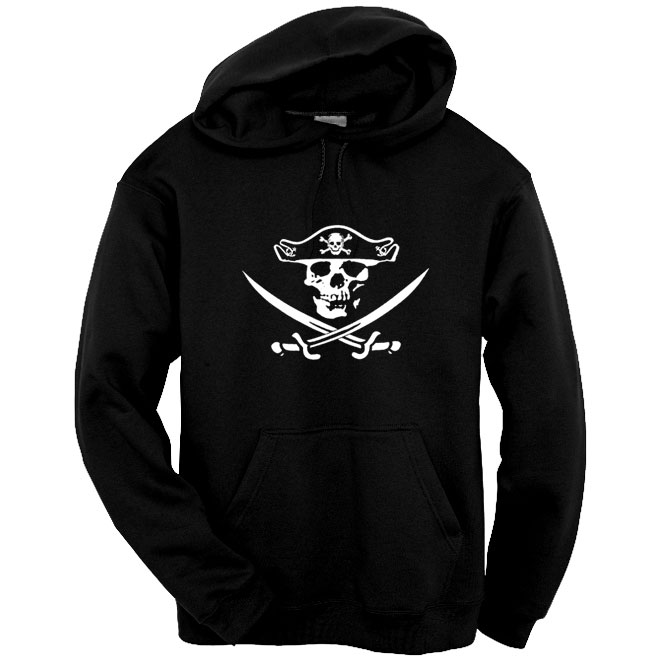 Jolly Roger 2 Pullover Hoodie